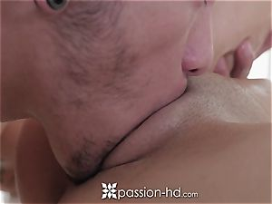 PASSION-HD Elsa Jean fondled and boned with jizz flow