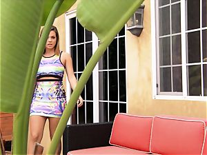 Keisha Grey gets active with her BFFs stud