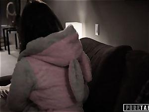 pure TABOO 18yo Ashley Sins Against mommy to please daddy