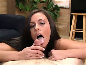 Whitney Westgate deep throats and ravages in point of view