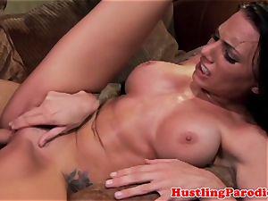 Juelz Ventura rides her housemates dick
