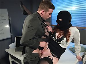 Zara DuRose penetrated in her rosy slit