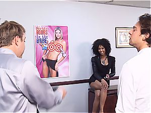 Getting mischievous in the office part 1