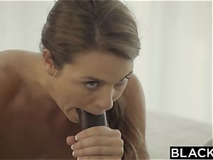 BLACKED first multiracial For ultra-kinky sista Ally Tate