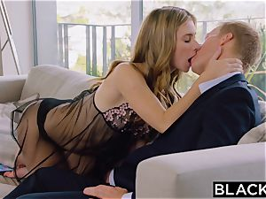 BLACKED giant bbc in her ass hole