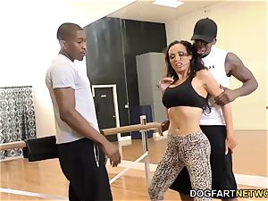 Nikki Benz loves ass fucking with big black cock - cuckold Sessions