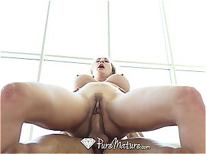 PureMature - Mature Brandi enjoy gets senior beaver humped