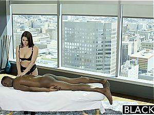 BLACKED handsome Italian honey Valentina Nappi asslicking black man With enthusiasm