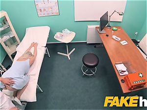 fake hospital hasty humping gives blond huge breasts british