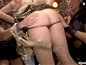 Carla Cox, Tarra milky and Nessa satan fuckfest sex hard