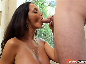 crazy dark-haired Ava Addams has her jaw-dropping cunny cracked into