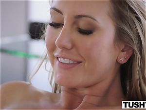 TUSHY Brett Rossi's very first off the hook rectal!