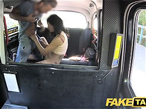 faux cab wondrous Thai girl with pierced beaver lips