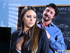 Brooklyn chase pokes her students parents