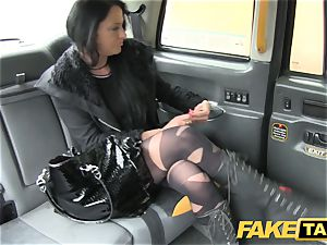 faux taxi Local prostitute humps taxi stud