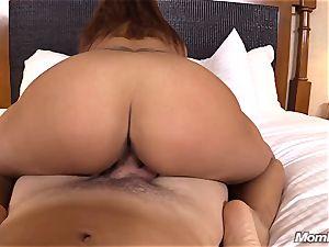 super-fucking-hot Latina first-timer milf first-ever timer