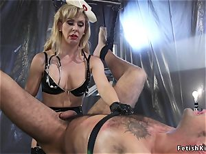 giant manhood male taked female domination from nurse