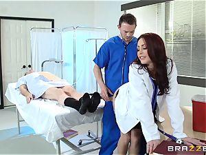 stellar medic Monique Alexander penetrates her trainee