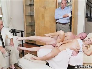 parent care and breakfast handjob aged stud Molly Earns Her Keep