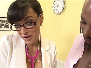 Lisa Ann uber-sexy cougar doctor