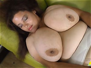 LatinChili huge-boobed Mature Solos Compilation