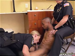 ebony milf taking the dick black male squatting in home gets our mummy officers squatting