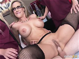 Rock rigid patient gets boinked by physician Brandi enjoy