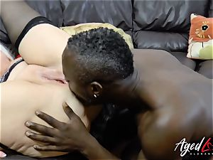 AgedLovE Lacey Starr bi-racial gonzo rectal