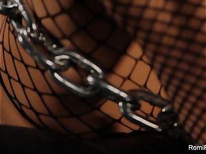 Romi Rain gets chained