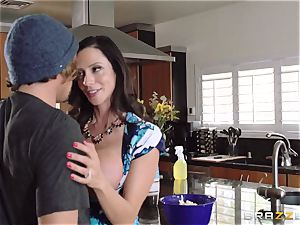 Mean mommy Ariella Ferrera seduces her daughters-in-law guy