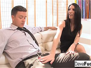 audition couch with Bradley that finishes with a internal ejaculation