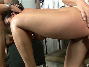 killer brown-haired with big bosoms Charley haunt