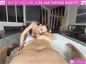 VRBangers.com flexible Jill Will stretch Her edible cooter