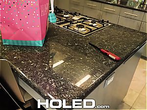 HOLED happy bday anal invasion pummel with Adria Rae