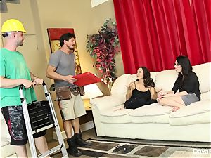 four-way wiith Dava Foxx, Ava Addams,
