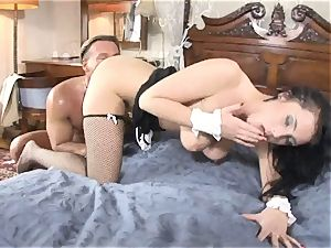 awesome Stacy Stone enjoys getting pulverized from behind