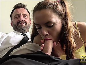 submissive biotch Susi Starr gets harsh treatment