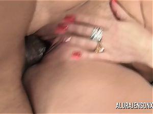 hefty bap superstar Alura Jenson loves enormous dark-hued dick