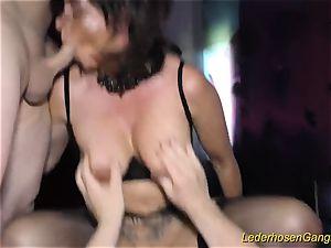 gang-fuck with big-chested mummy Dacada