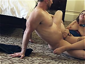 uber-sexy woman Lena Paul fucking her boy