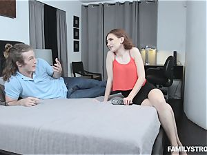 Kelsey Kage messing with her ultra-kinky step brother