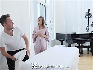 PASSION-HD dripping creampie pound with Adriana Chechik