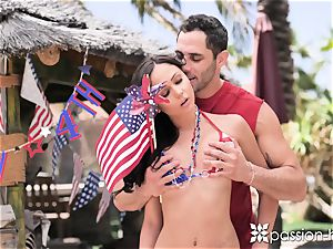 PASSION-HD Backyard 4th of July outdoor poke