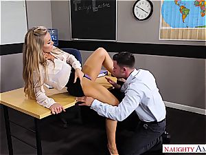 The greatest professor Nicole Aniston wants stiffy for her blessing