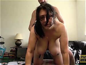 huge-chested mature Sabrina Jade loves to be pounded toughly