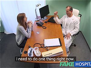 FakeHospital doctor creampies super-sexy cock-squeezing cunny